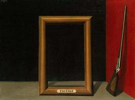 ren magritte les charmes du paysage 1929 - Empty Frame